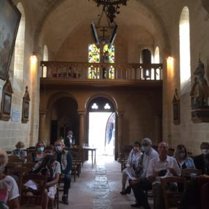 Le village de Sigloy ouvre son église et accueille les visiteurs
