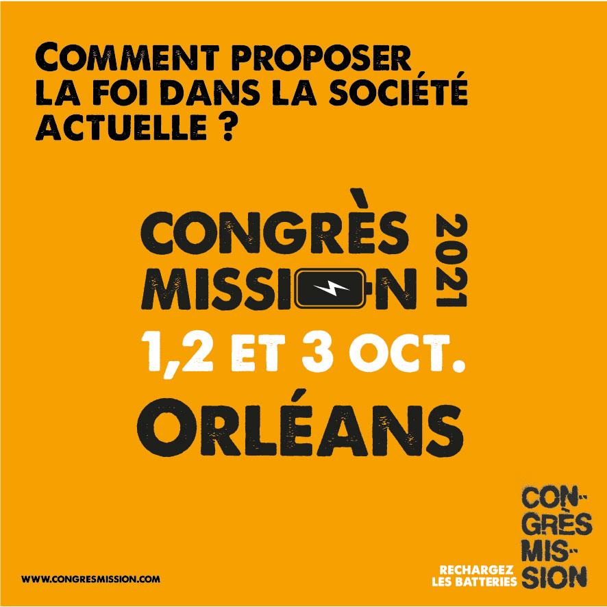 Congrès Mission Orléans